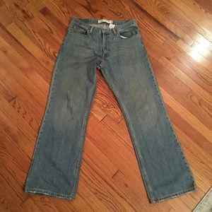 Levi's 567 loose bootcut jeans